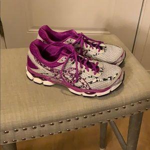 ASICS running shoes size 9